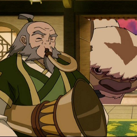 iroh sozin's comet part 4 avatar aang jasmine dragon tea shop apah tsungi horn four seasons neodruwid four loves ne-o druwid